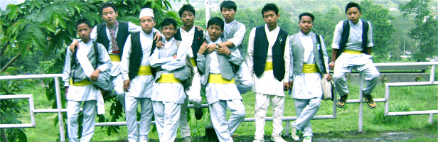 Kirat Boys at Sikkim